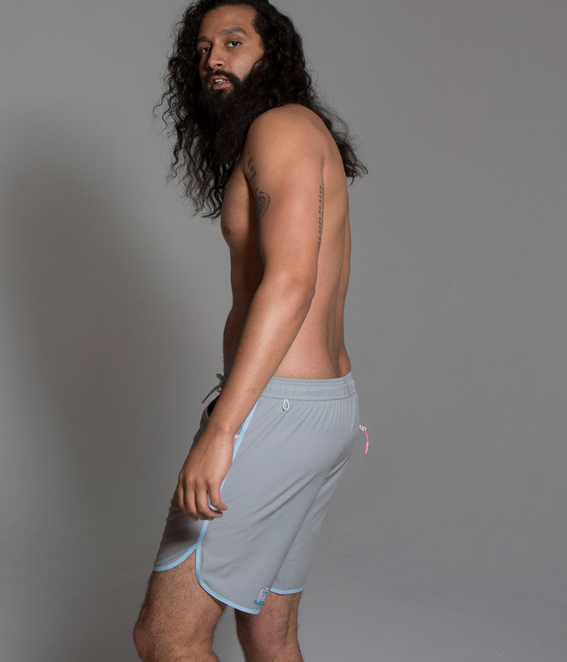 Junk In Your Trunks - Men's Swim Trunks - Solid Elephant Grey