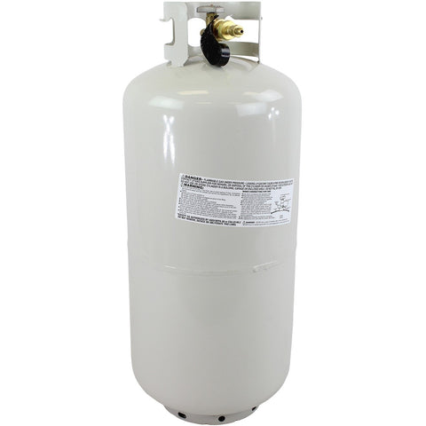 40LB High Purity USA N-Butane Lot Analysis LP Gas Tank 99.83%, 99.5% Guaranteed - Freight Ship Only