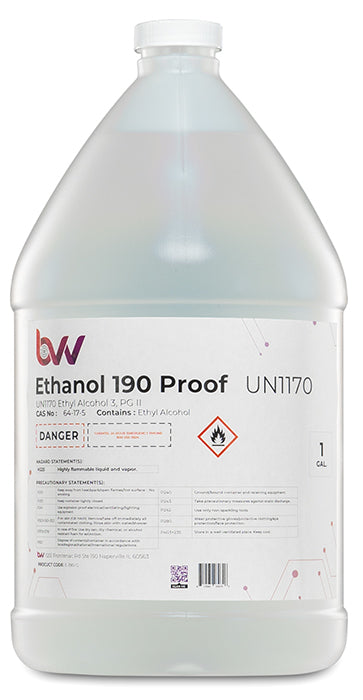 Ethanol 190 Proof – Windy City Solvents
