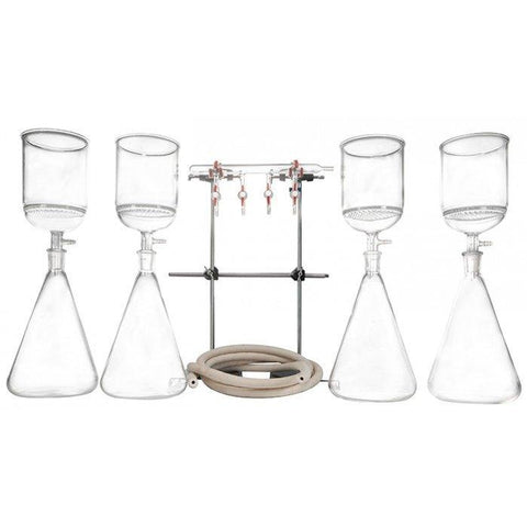 Buchner Funnel & Flask Filtration Kit - Fritted