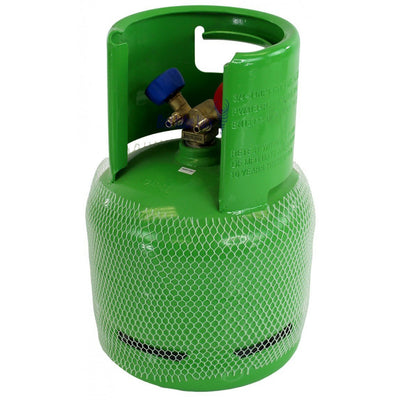 Mastercool 61010-EUGRN 6L Refrigerant Recovery Reclaim Cylinder