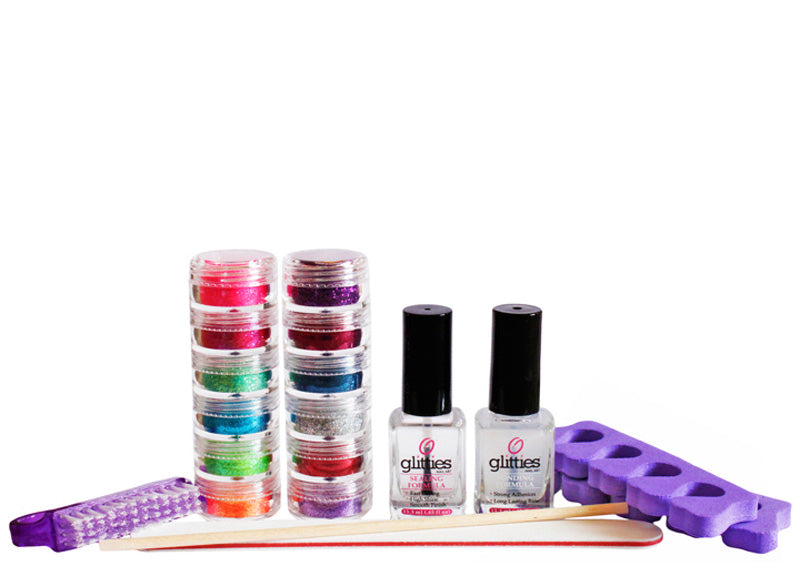 Glitter Toes Kit – Most Popular Colors