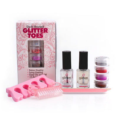 Glamour Glitter Toes Kit