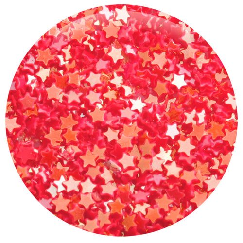 Bright Red Star Dazzling