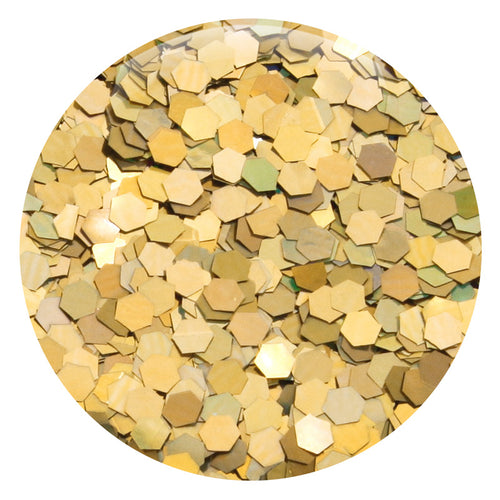 "Gold Jewel Hexagon .094"" – Bulk"