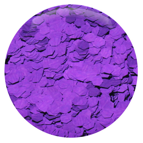 "Plum Hexagon .094"" – Bulk"
