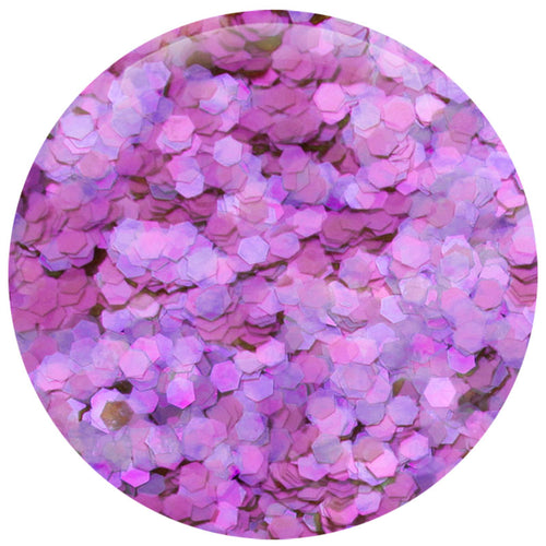 *NEW* Frosted Grape Hexagon .062""