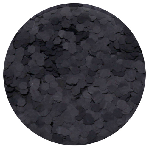 "Black Ice Hexagon .062"" – Bulk"