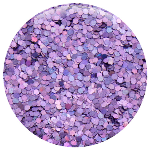 "Lavender Jewel Hexagon .040"" – Bulk"