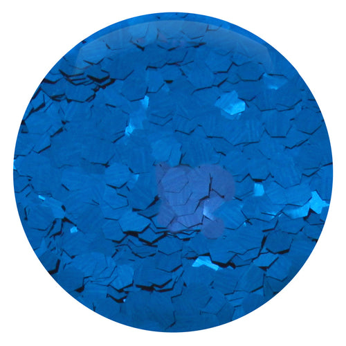 Cobalt Blue Hexagon .094""