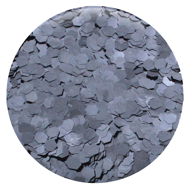 "Gunmetal Hexagon .094"" – Bulk"