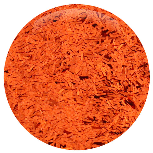 "Golden Orange Flitter .062"" – Bulk"