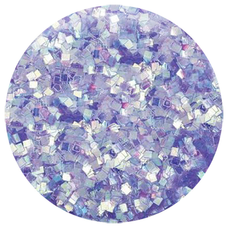 Iridescent Purple Square .035""