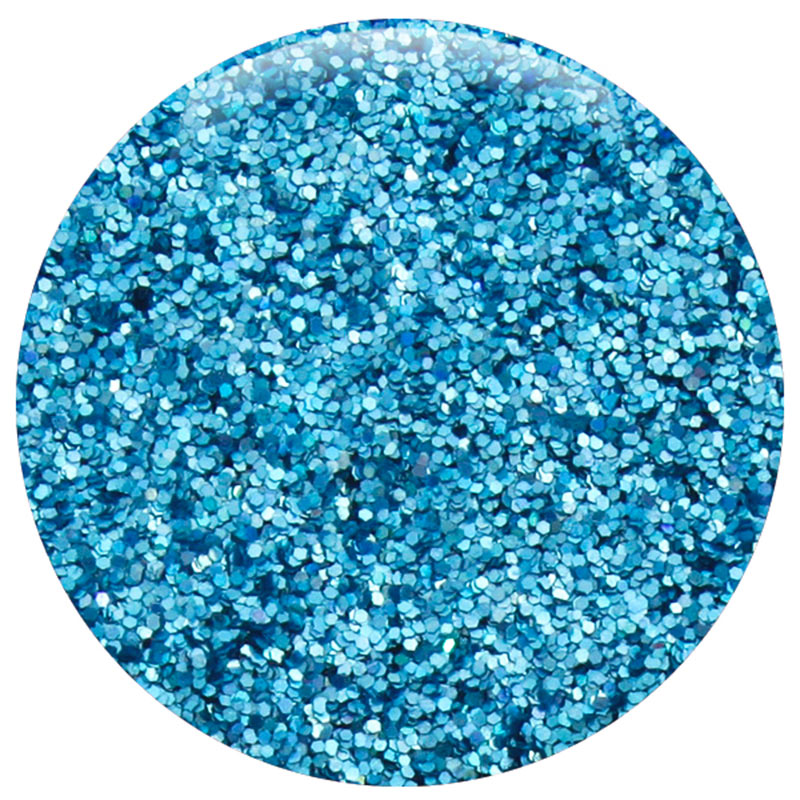 Ocean Blue Jewel Hexagon .015""