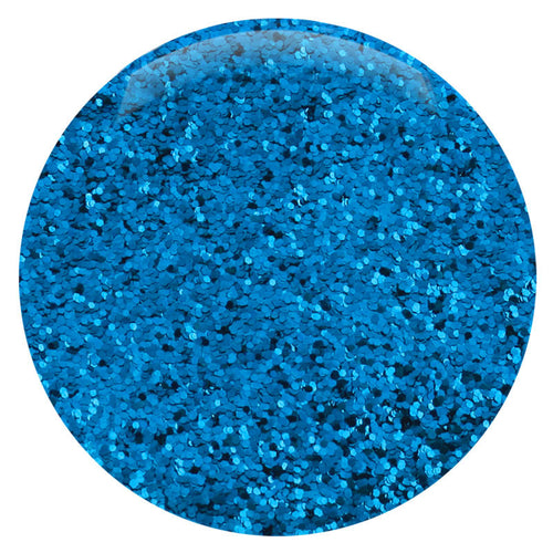 "Blue Teal Hexagon .015"" – Bulk"