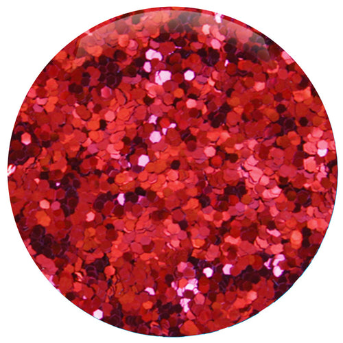 Ruby Red Hexagon .040""