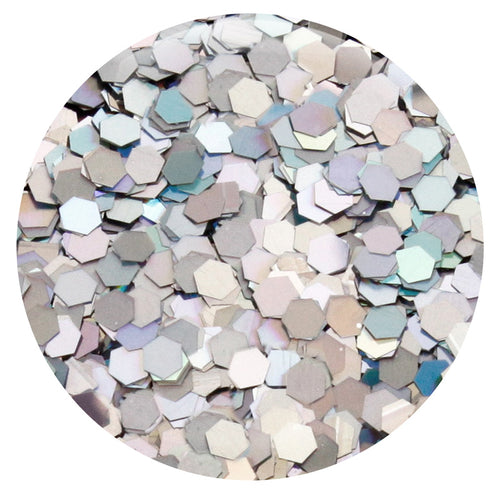 "Silver Jewel Hexagon .094"" – Bulk"