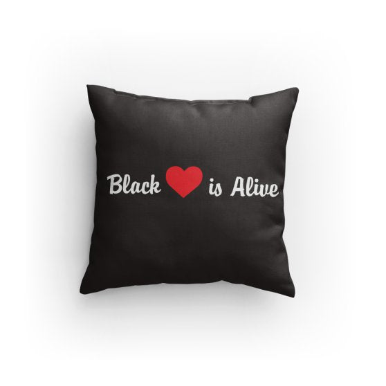 Black Love is Alive V1 Pillow