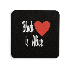 Black Love is Alive V1 Coasters