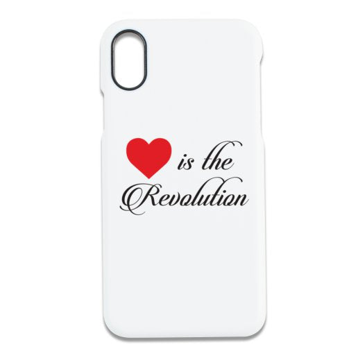 Love is the Revolution V2 iPhone X Case