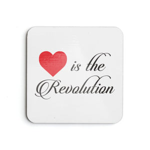 Love is the Revolution V2 Coasters