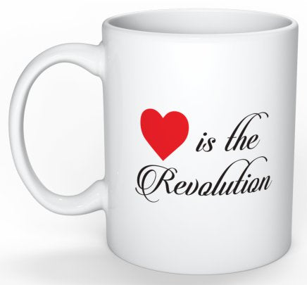 Love is the Revolution V2 Mug