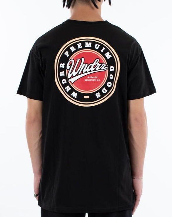 WNDRR Coasters Custom Fit Tee - Black