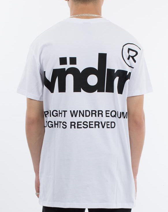 WNDRR Offcut Custom Fit Tee - White