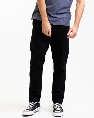 RHYTHM Essential Sunday Pant - Black