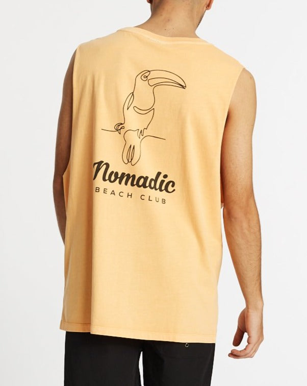 NOMADIC Beach Club Muscle Cut