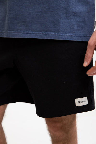 RHYTHM Essential Jam Shorts - Black