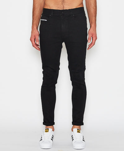 NXP NX Skinny Jeans - Jet Black - Forestwood Co