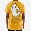 WNDRR Nifty Tee - Yellow - Forestwood Co