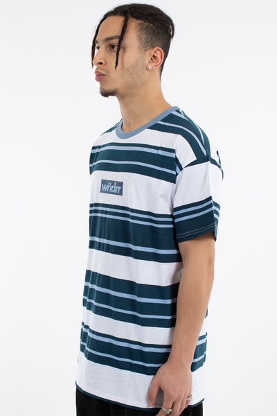 WNDRR Rookie Stripe Custom Fit Tee
