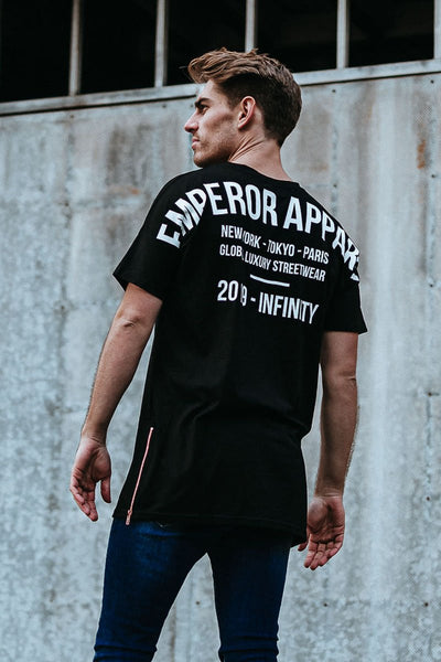 Emperor Apparel Oversize Logo T-Shirt - Forestwood Co