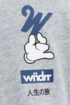 WNDRR Pinch Tee - Grey - Forestwood Co
