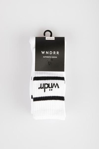 WNDRR Socks 3 Pack - White - Forestwood Co