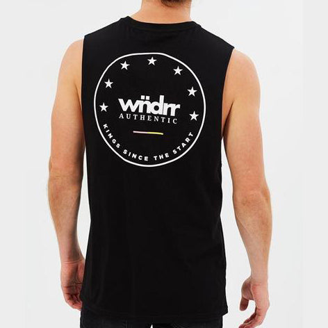 WNDRR Supreme Muscle - Black - Forestwood Co