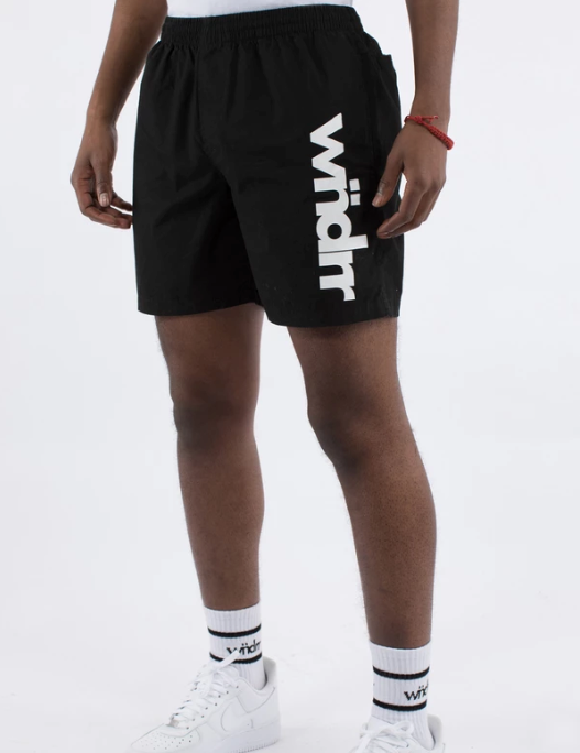 WNDRR Lead Beach Shorts - Black - Forestwood Co