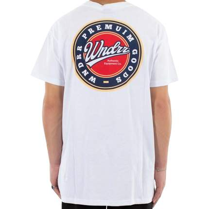 WNDRR Coasters Custom Fit Tee - White