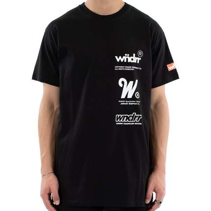 WNDRR Paradox Custom Fit Tee - Black