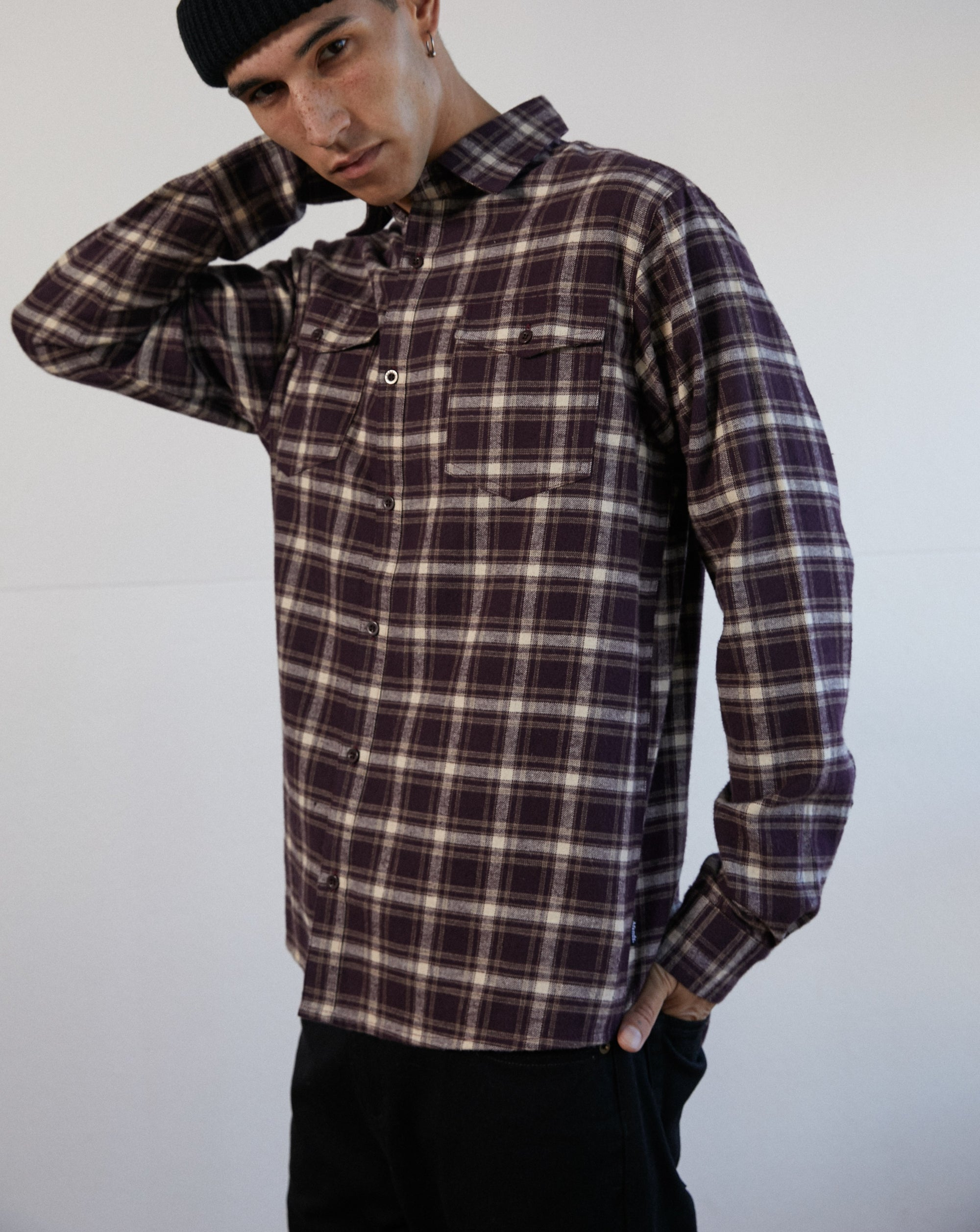 AFENDS Falcon Hemp Shirt