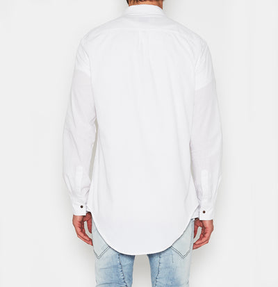 NxP Airwolf Tail Shirt - White - Forestwood Co