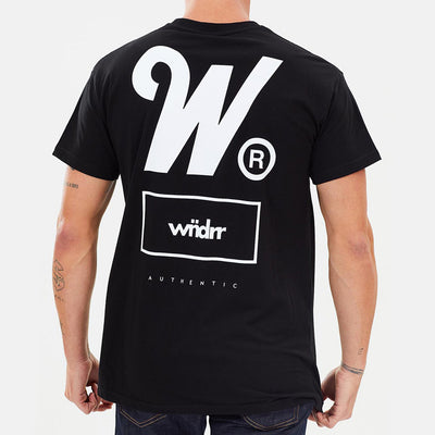 WNDRR Authentic Tee - Black - Forestwood Co
