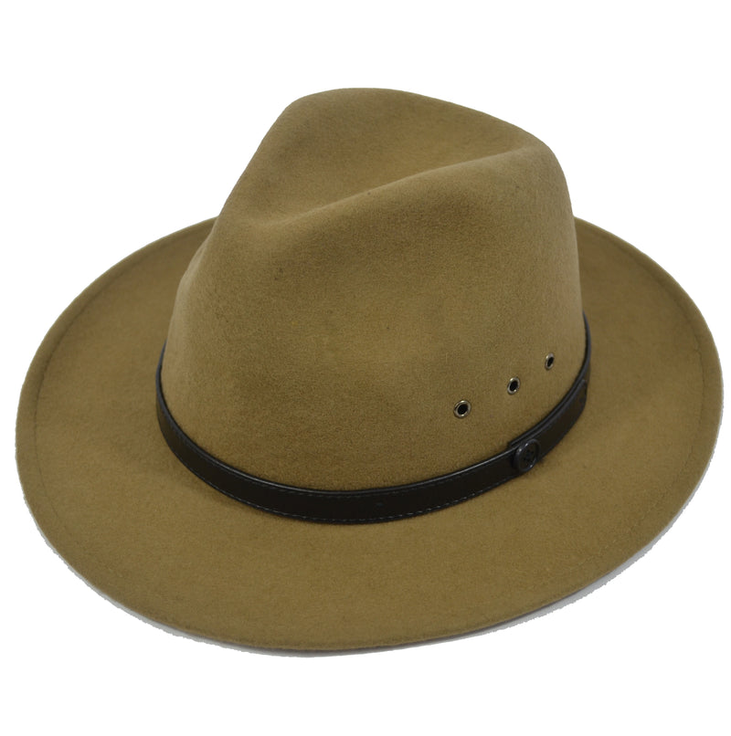 Billy Bones Club Fedora - Baige - Forestwood Co