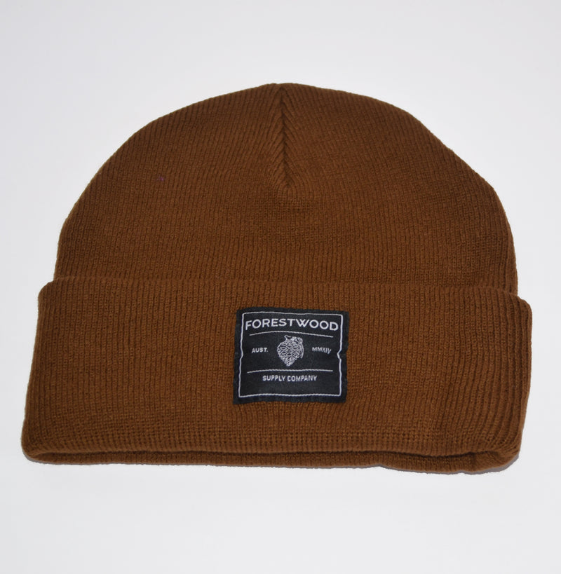 Forestwood Beanie - Brown - Forestwood Co