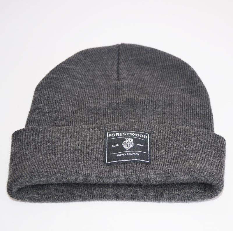 Forestwood Beanie - Grey - Forestwood Co