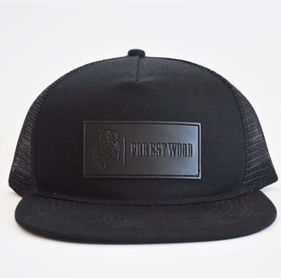 Forestwood Leather Label - Black - Forestwood Co