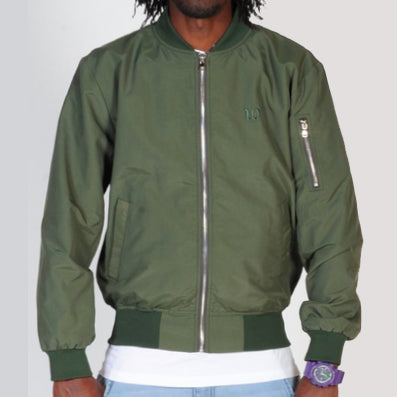 WNDRR Excursions Bomber Jacket - Khaki - Forestwood Co