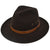 Billy Bones Club Fedora - Brown - Forestwood Co